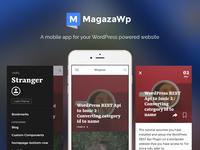Magaza Wordpress Mobile app