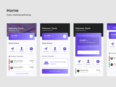 Fina Design System in progress design system financial app finance