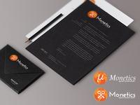 Monetics Branding concept