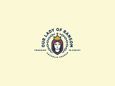 Branding - Our Lady Of Ransom catholic ransom our lady logo branding