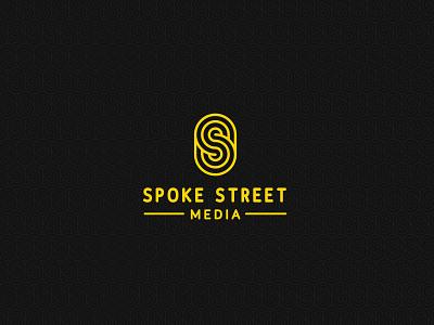 Branding: Spoke Street Media yellow s catholic branding logo media street spoke