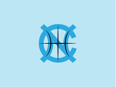 UNC Women's Basketball Logo