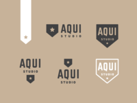 Branding for AQUI Studio