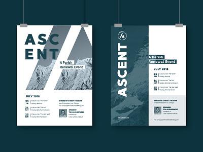 Poster designs mountain pier giorgio verso lalto ascent catholic poster