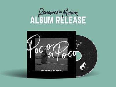 Album Cover music friar renewal in motion poco a poco album cover catholic