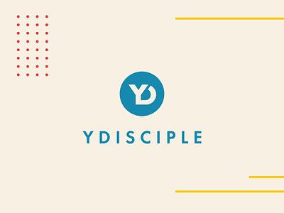 Branding YDisciple yd monogram disciple catholic logo