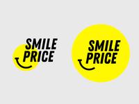 Smile price logo concept