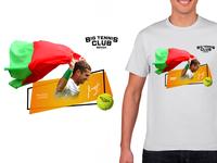 T-shirt tennis club