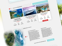 Travel agency website (tours + feedback)