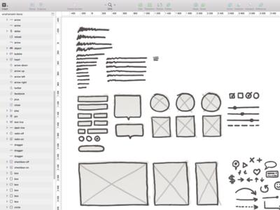 sketch wireframes kit