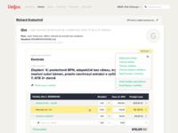 Vetfox app – Visit view