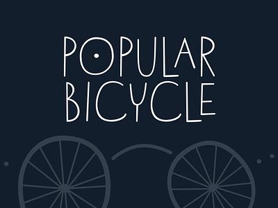 Cubicoola Font Application bicycle font typeface cubicoola