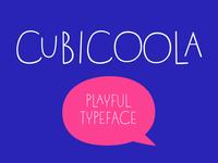 Cubicoola Typeface