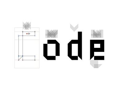 Type in Progress pixel typeface type glyphs font