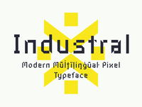 Industral Typeface