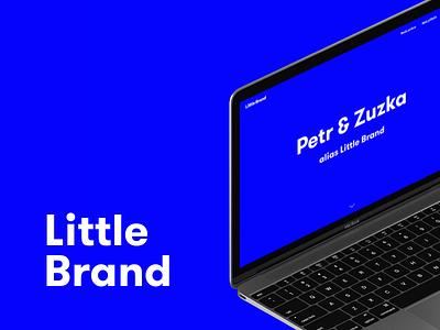Little Brand Website semplice macbook little brand website web