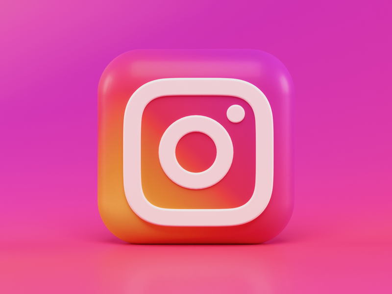 Instagram 3d Icon Concept concept ios 14 ios app app gradient blender 3d macos icon icon design icondesign iconography bigsur macos ios blender render illustraion icon 3d instagram