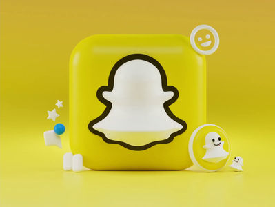 Snapchat 3d Icons Concept concept ghost app spectacles rainbow water ios big sur iconography blender 3d modeling icon snap 3d animation animation render design illustration 3d snapchat