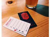 Pale Fire Brewing Flight Cards