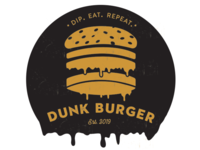 Dunk Burger Logo