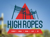 Swing Leap Zip - Logo for High Ropes Course