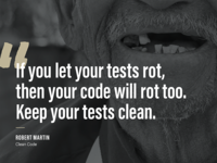 Rotting Tests Are Bad For Your Health