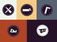 Sawdust Society Icons