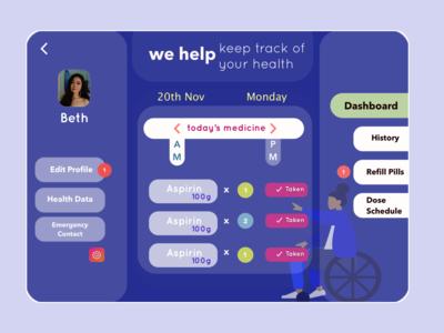 Health Web App 👩🏻⚕️