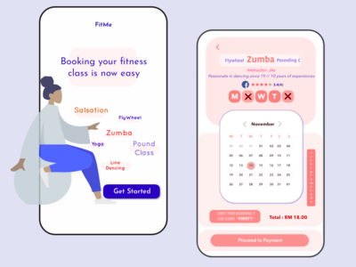 Fitme! Fitness Online Booking System