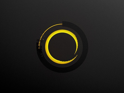 Circle Grow c4d circle growing glow black premium