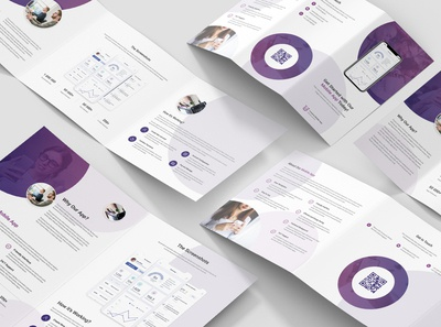 Creative App – Brochures Bundle Photoshop Template