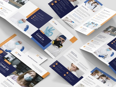 Medical Business – Bundle Print Templates virus care hospital medical medical care flyer template indesign template photoshop template brochures templates flyer design flyer brochures