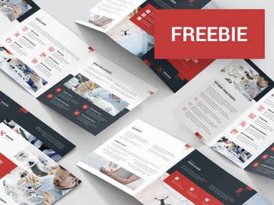 Drone Service – Brochures Bundle Templates | FREEBIE freebie free service indesign template indesign flyer design flyer template flyer brochure design brochure template brochure drone service drone
