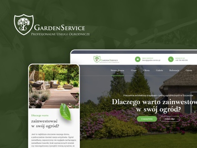 Garden Service – Web Design Photoshop Template architecture surrounding architecture house grass leaf responsive design website concept gardener gardening garden service garden ux ui webdesign website