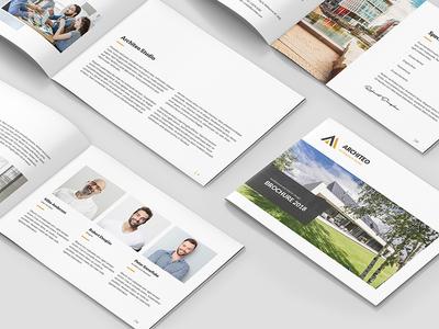Architeo – Architecture and Interior Brochure Landscape A5