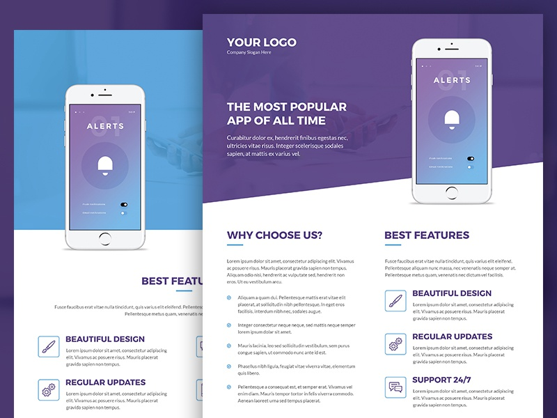 Mobile Apps – Brochures And Flyers Print Templates By Artbart On