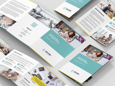 Creative Agency – Brochures Bundle Print Templates 10 in 1