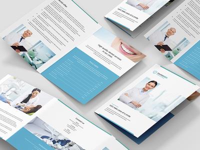 Dentist – Brochures Bundle Print Templates 10 in 1