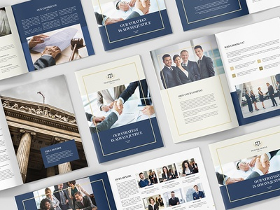 Brochures – Law Firm Company Profile Bundle 3 in 1