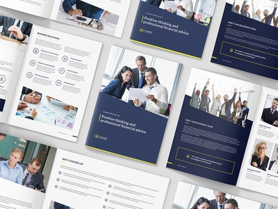 FinancBiz – Company Profile Bundle 3 in 1 portfolio business portfolio creative agency business presentation square landscape portrait annual report company profile indesign template indesign brochure template brochure design brochures