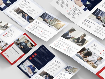 IT Solutions – Brochures Bundle Print Templates 5 in 1 brochures bundle portfolio editorial design consulting finance brochure layout it solutions flyer design flyer template print template photoshop template brochure design brochures