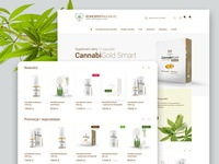 Konopny Bazar – Hemp Bazaar eCommerce Website