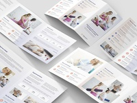 Pregnancy School – Brochures Bundle Print Templates 5 in 1