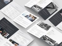 Lawyer – Brochures Bundle Print Templates 5 in 1
