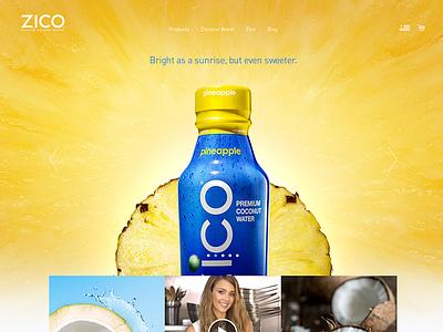 Zico Refresh interactive refresh redesign