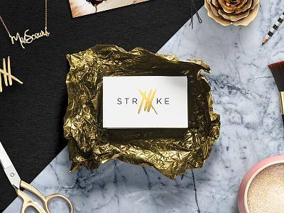 Striiike Branding style striiike signage fashion celebrity branding beauty