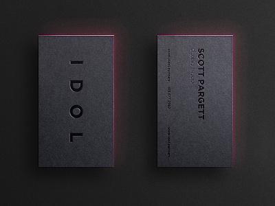 IDOL Cards business cards idol