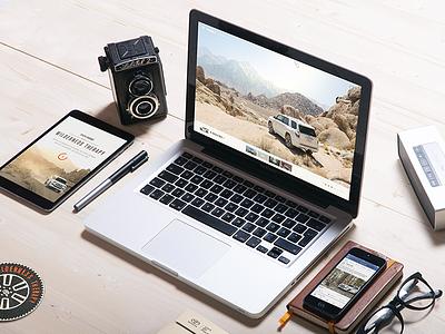 Toyota 4Runner - Wilderness Therapy idol outdoor wilderness photography vr interactive 4runner toyota automotive