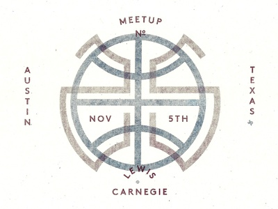 Austin Dribbble Meetup No. 25! riso texas austin lewis carnegie dribbble meetup risograph