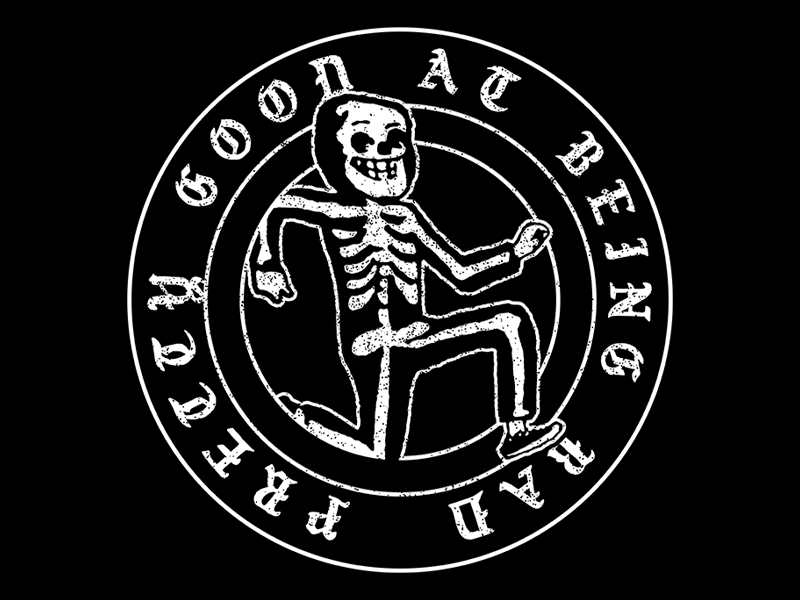 Pretty Good At Being Bad most evil costume skull darkness evil dark halloween
